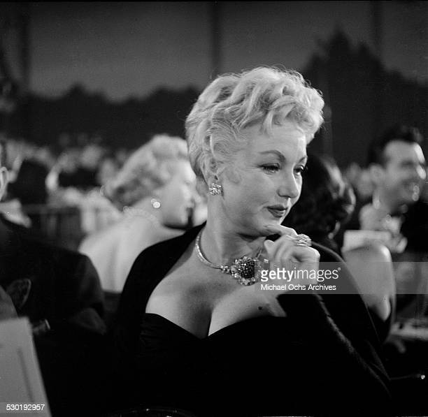 Actress Ann Sothern attends the Emmy Awards in Los AngelesCA