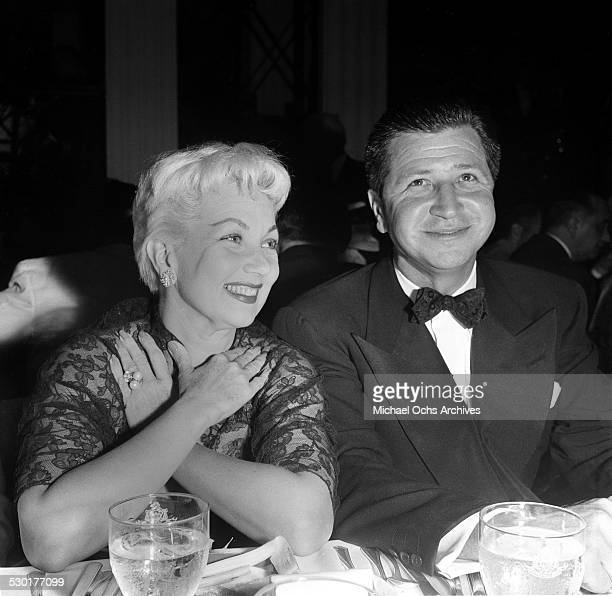 Actress Ann Sothern attends the Friars Dinner in Los AngelesCA