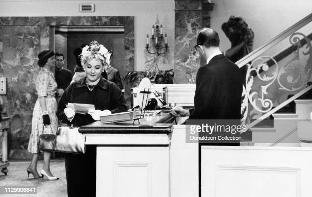 Actress Ann Sothern in a scene from a movie in circa 1958
