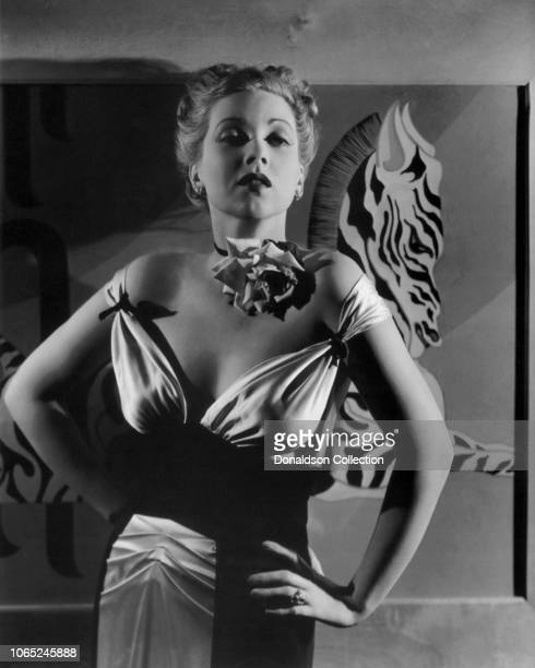 Actress Ann Sothern in a scene from the movie Brother Orchid