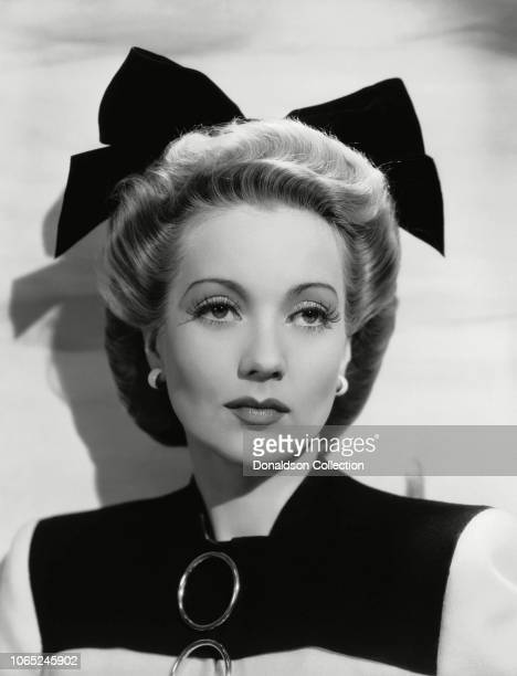 Actress Ann Sothern in a scene from the movie Dulcy