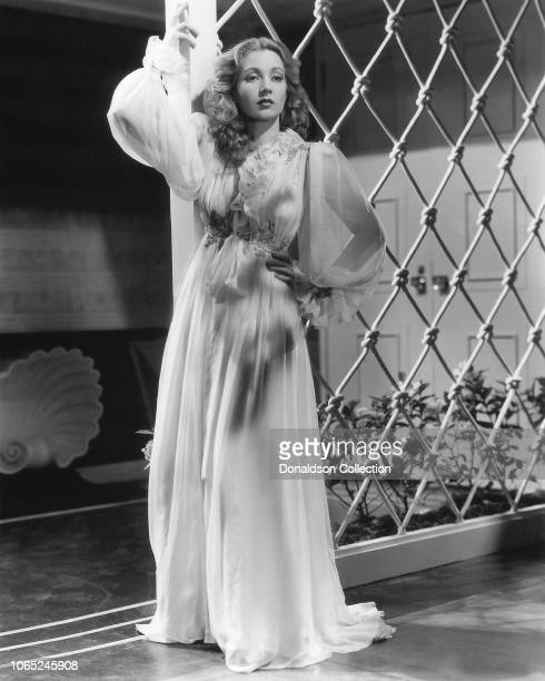 Actress Ann Sothern in a scene from the movie Lady Be Good