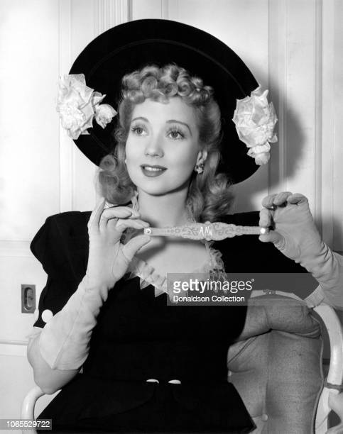 Actress Ann Sothern in a scene from the movie Maisie Gets Her Man