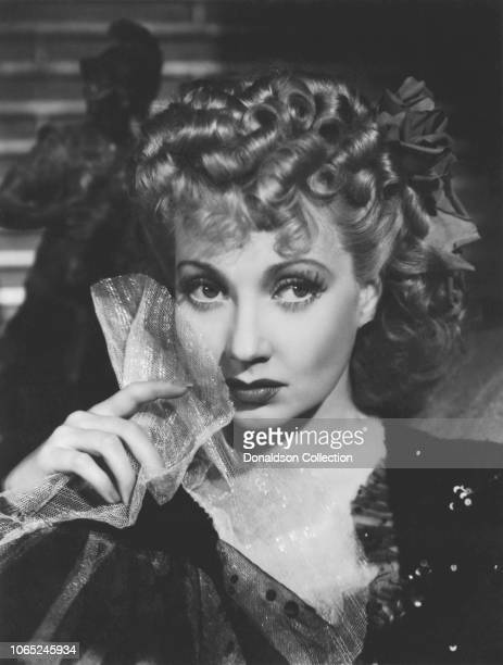 Actress Ann Sothern in a scene from the movie Maisie Was a Lady