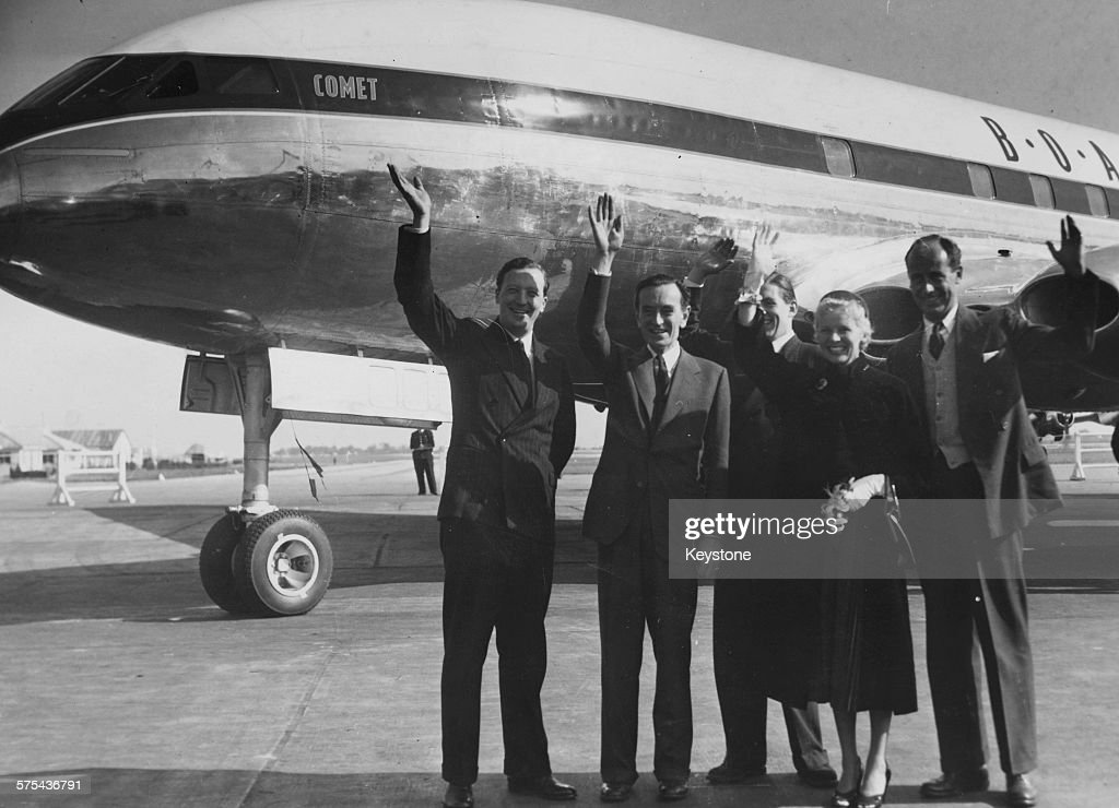 Cast And Pilots of The Sound Barrier : News Photo
