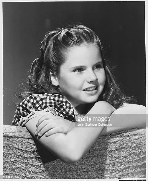 Actress Ann Todd as a Young Girl