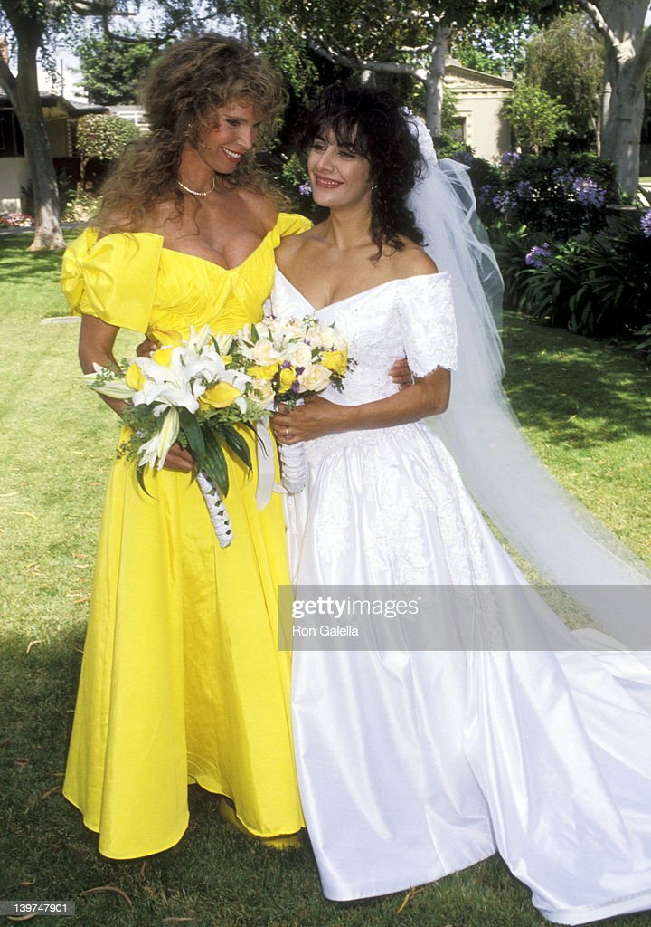 Wedding of Marina Sirtis and Michael Lamper : News Photo