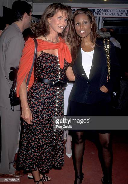 Actress Ann Turkel and Beverly Johnson attend the Opening Night Performance of Jackie Mason's OneMan Show Jackie Mason Politically Incorrect on July...