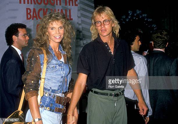 Actress Ann Turkel and date attend the Die Hard West Hollywood Premiere on July 12 1988 at Avco Center Cinemas in Westwood California