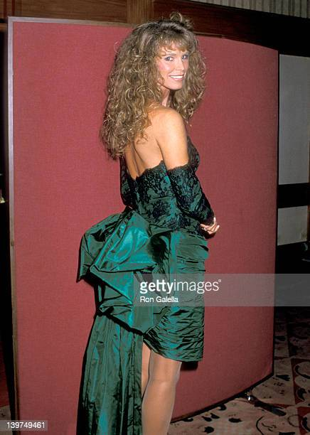 Actress Ann Turkel attends the 13th Annual Association of Tennis Professionals Awards on December 1 1987 at the New York Hilton Hotel in New York...