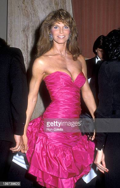 Actress Ann Turkel attends the WrapUp Party for the Eighth Season of The Love Boat on March 31 1985 at Beverly Hilton Hotle in Beverly Hills...
