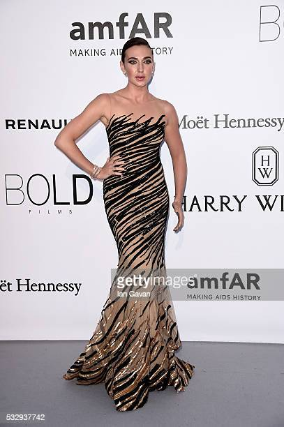 Actress Anna Anissimova arrives at amfAR's 23rd Cinema Against AIDS Gala at Hotel du CapEdenRoc on May 19 2016 in Cap d'Antibes France