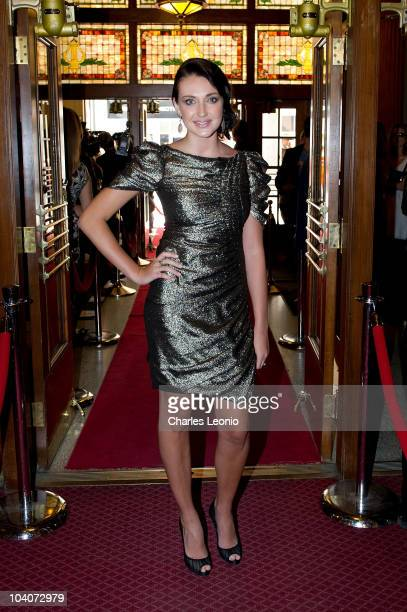 Actress Anna Anissimova attends The Whistleblower Premiere held at the Visa Screening Room At The Elgin Theatre during the 35th Toronto International...