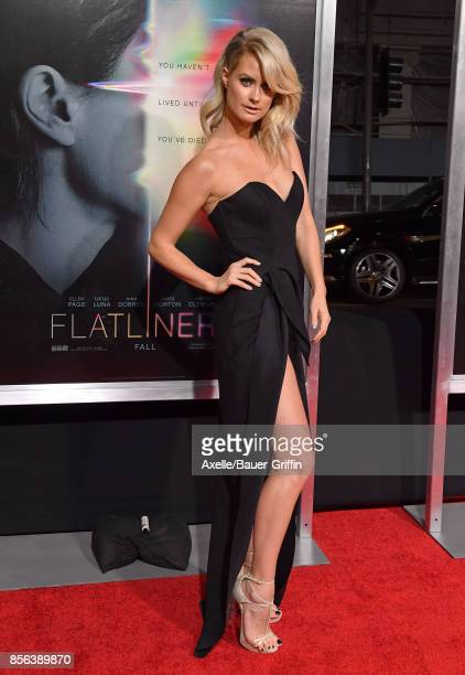 Actress Anna Arden arrives at the premiere of 'Flatliners' at The Theatre at Ace Hotel on September 27 2017 in Los Angeles California