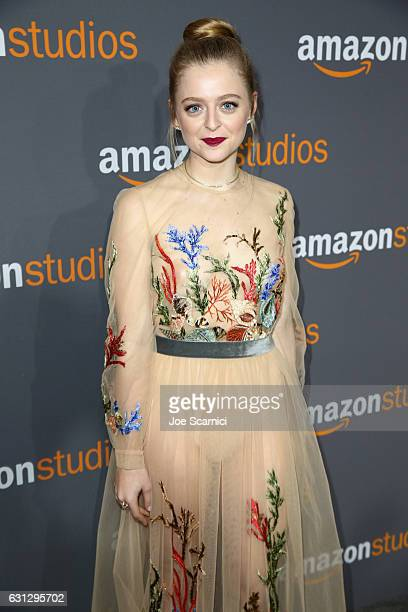 Actress Anna Baryshnikov attends Amazon Studios Golden Globes Party at The Beverly Hilton Hotel on January 8 2017 in Beverly Hills California