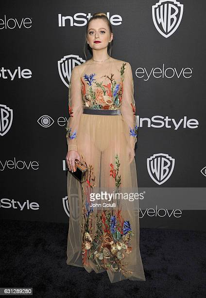 Actress Anna Baryshnikov attends The 2017 InStyle and Warner Bros 73rd Annual Golden Globe Awards PostParty at The Beverly Hilton Hotel on January 8...