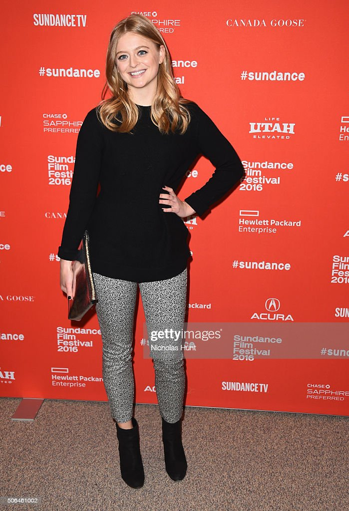 Actress Anna Baryshnikov attends the 'Manchester By The Sea' Premiere during the 2016 Sundance Film Festival at Eccles Center Theatre on January 23, 2016 in Park City, Utah.