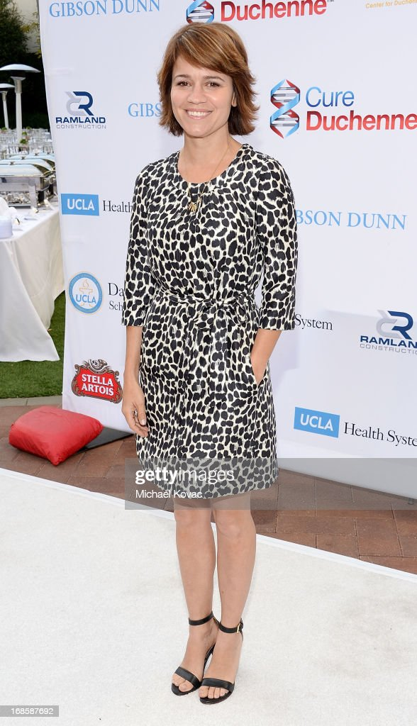 Actress Anna Belknap attends the 6th Annual Dealing For Duchenne Charity Poker Tournament at Sony Pictures Studios on May 11, 2013 in Culver City, California.