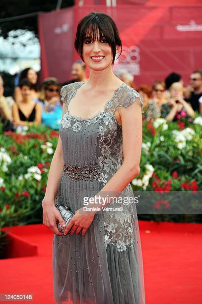 """Actress Anna Bellato attends the """"L'ultimo terrestre"""" Premiere during the 68th Venice International Film Festival at Palazzo del Cinema on September..."""