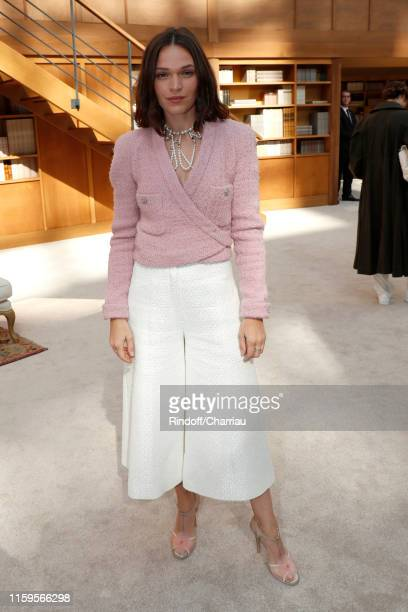 Actress Anna Brewster attends the Chanel Haute Couture Fall/Winter 2019 2020 show as part of Paris Fashion Week on July 02 2019 in Paris France
