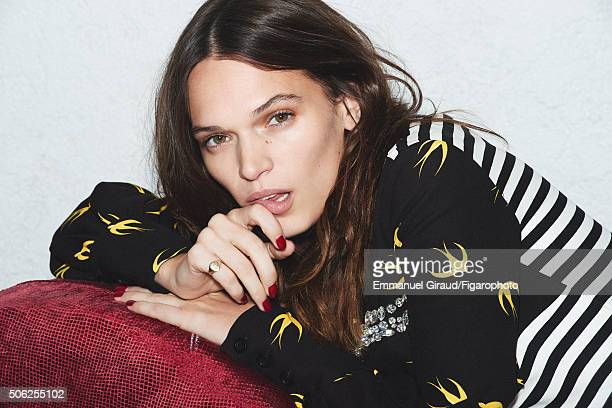 Actress Anna Brewster is photographed for Madame Figaro on November 20 2015 in AsnieressurSeine France Dress CREDIT MUST READ Emmanuel...