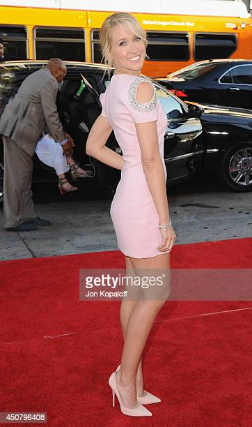 """Actress Anna Camp arrives at HBO's """"True Blood"""" Final Season Premiere at TCL Chinese Theatre on June 17, 2014 in Hollywood, California."""