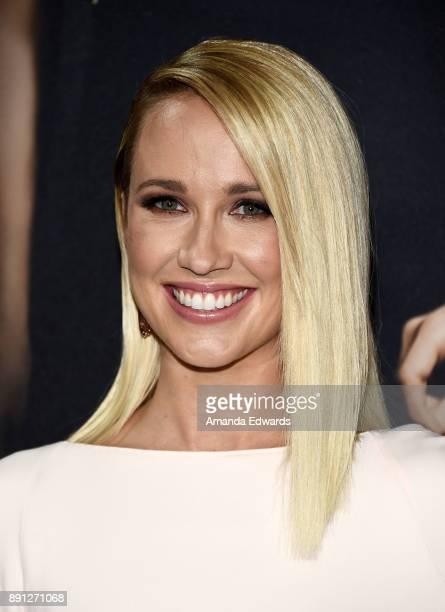 Actress Anna Camp arrives at the premiere of Universal Pictures' 'Pitch Perfect 3' on December 12 2017 in Hollywood California