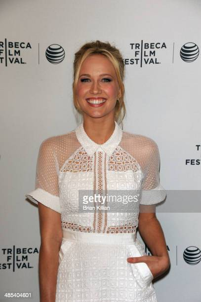 Actress Anna Camp attends Goodbye To All That screening during the 2014 Tribeca Film Festival at SVA Theater on April 17 2014 in New York City