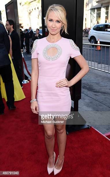 "Actress Anna Camp attends Premiere Of HBO's ""True Blood"" Season 7 And Final Season at TCL Chinese Theatre on June 17, 2014 in Hollywood, California."