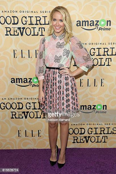 Actress Anna Camp attends the Good Girls Revolt New York Screening at the Joseph Urban Theater at Hearst Tower on October 18 2016 in New York City