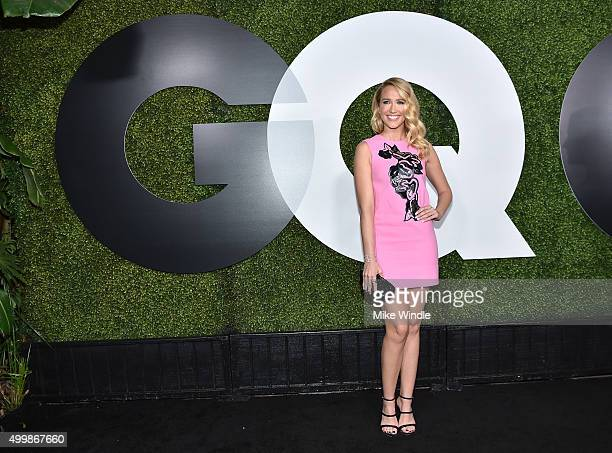Actress Anna Camp attends the GQ 20th Anniversary Men Of The Year Party at Chateau Marmont on December 3 2015 in Los Angeles California