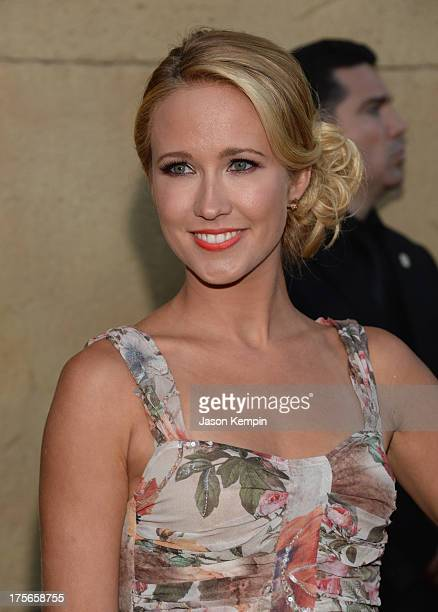 Actress Anna Camp attends the premiere Of RADiUSTWC's 'Lovelace' at the Egyptian Theatre on August 5 2013 in Hollywood California