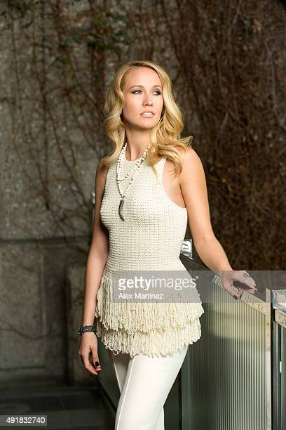 Actress Anna Camp is photographed for Eide Magazine on May 5 2015 in Los Angeles California PUBLISHED IMAGE