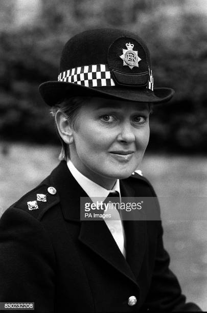 Actress Anna Carteret star of the new BBC TV police series Juliet Bravo in the role of Inspector Jean Darblay