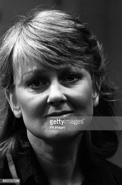 Actress Anna Carteret the star of BBC TV police series Juliet Bravo
