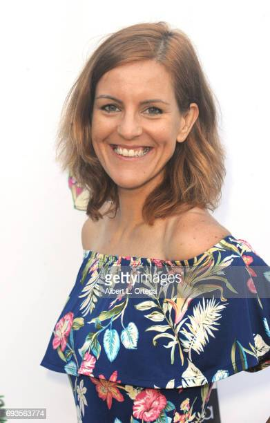 Actress Anna Carvalho arrives for Etheria Film Night held at The Egyptian Theatre on June 3 2017 in Los Angeles California
