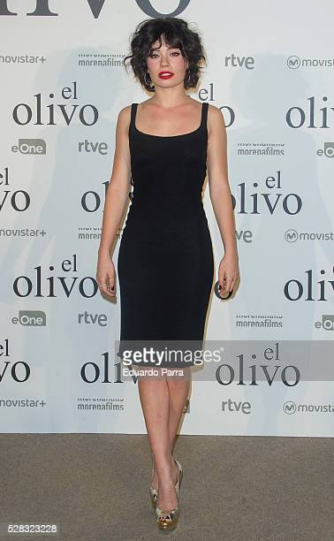 Actress Anna Castillo attends 'El olivo' premiere at Capitol cinema on May 04 2016 in Madrid Spain