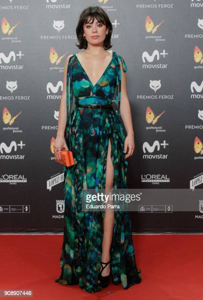 Actress Anna Castillo attends Feroz Awards 2018 at Magarinos Complex on January 22 2018 in Madrid Spain