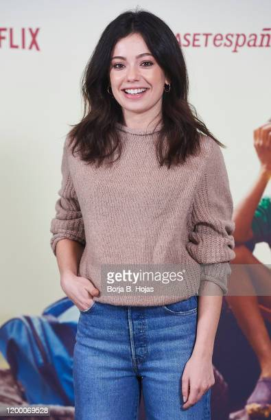 Actress Anna Castillo during 'Adu' Madrid photocall presentation on January 17 2020 in Madrid Spain
