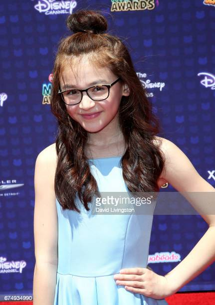 Actress Anna Cathcart attends the 2017 Radio Disney Music Awards at Microsoft Theater on April 29 2017 in Los Angeles California