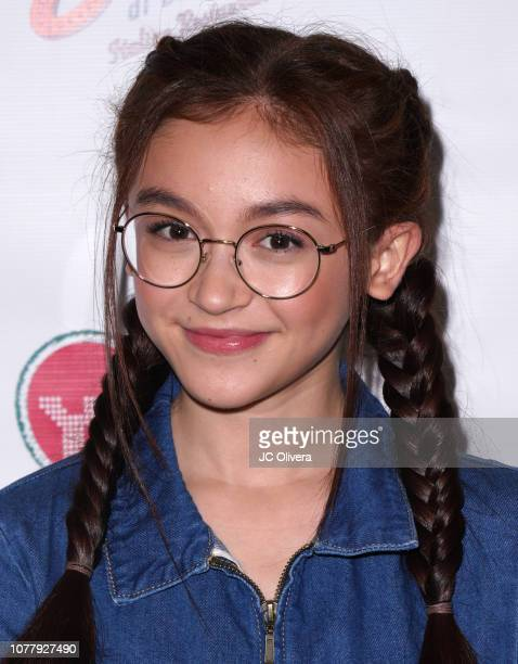 Actress Anna Cathcart attends YSBNow Holiday Dinner and Toy Drive at Buca di Beppo CityWalk on December 05 2018 in Universal City California
