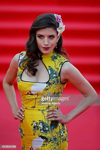 Actress Anna Chipovskaya attends the opening the 38th Moscow International Film Festival in Moscow Russia on June 23 2016