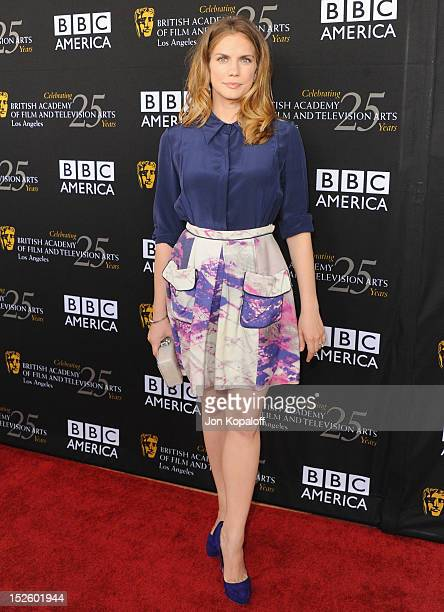 Actress Anna Chlumsky arrives at the BAFTA Los Angeles TV Tea 2012 Presented By BBC America at The London Hotel on September 22, 2012 in West...