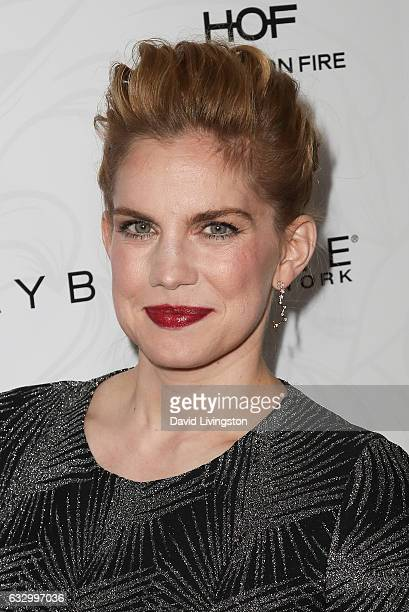 Actress Anna Chlumsky arrives at the Entertainment Weekly celebration honoring nominees for The Screen Actors Guild Awards at the Chateau Marmont on...
