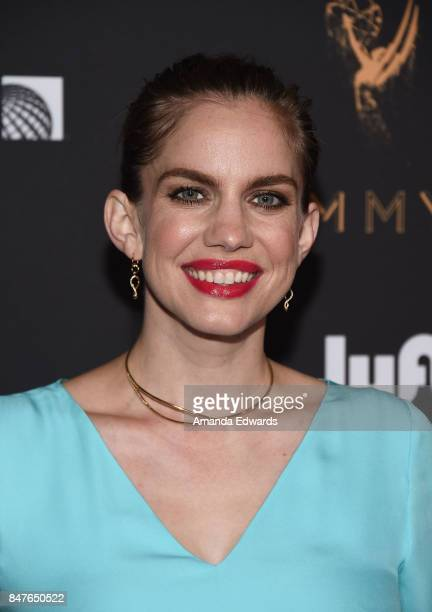 Actress Anna Chlumsky arrives at the Television Academy's Performers Nominee Reception at the Wallis Annenberg Center for the Performing Arts on...