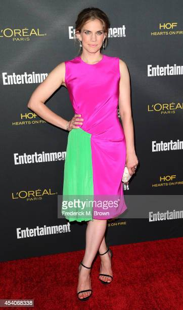 Actress Anna Chlumsky attends Entertainment Weekly's Pre Emmy Party at the Fig Olive Melrose Place on August 23 2014 in West Hollywood California
