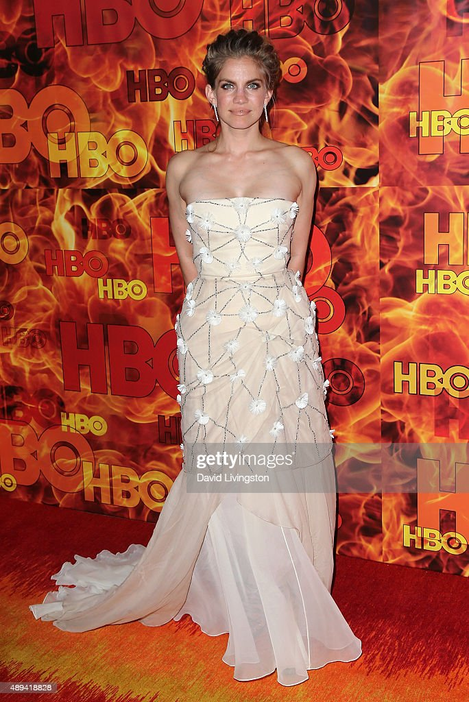 Actress Anna Chlumsky attends HBO's Official 2015 Emmy After Party at The Plaza at the Pacific Design Center on September 20, 2015 in Los Angeles, California.