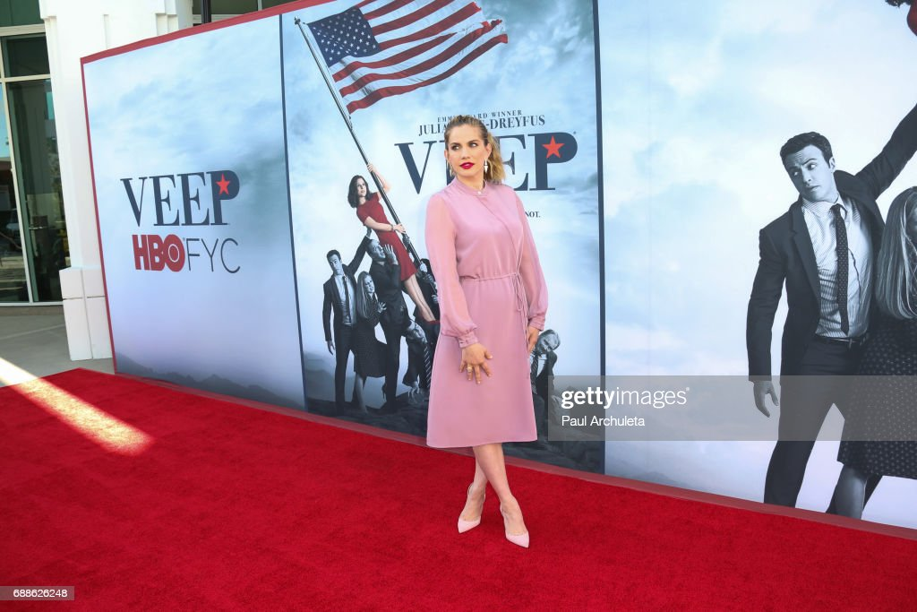 Actress Anna Chlumsky attends HBO's 'Veep' FYC event at The Saban Media Center on May 25, 2017 in North Hollywood, California.