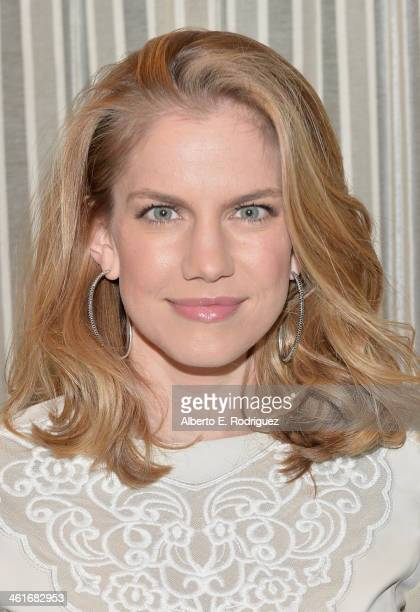Actress Anna Chlumsky attends the 14th annual AFI Awards Luncheon at the Four Seasons Hotel Beverly Hills on January 10, 2014 in Beverly Hills,...