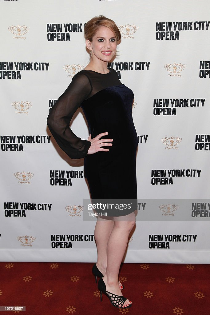 Actress Anna Chlumsky attends the 2013 New York City Opera Spring Gala at New York City Center on April 25, 2013 in New York City.